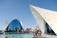 Oceanografic, City of Arts and Sciences, Valencia, Spain, Europe
