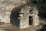 Louis Cyparis´s jail, Saint Pierre, Martinique, West Indies, Caribbean, Central America