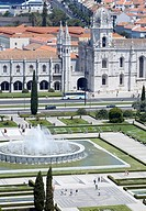 Mosteiro dos Jeronimos Monastery of the Hieronymites, dating from the 16th century, UNESCO World Heritage Site, Belem, Lisbon, Portugal, Europe