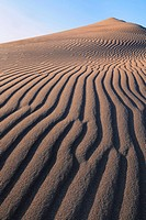 Sand Dune in the Great Sand Dunes National Park. Colorado, USA