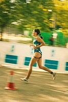 Campeonato de Triatlón. Prueba de CARRERA. Femenino. Madrid ITU World Cup.