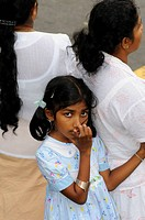 Girl, Kandy, Sri Lanka