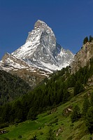Cervin from Zermatt, Alpes, Alps (thumbnail)