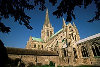 Cathedral, Chichester, West Sussex, Sussex, England, United Kingdom, Europe