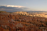 The beautiful rock formations of Bryce Canyon National Park Utah USA