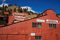 Argo Mine, Idaho Springs, Rocky Mountains, Colorado, United States of America, North America