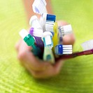 A handful toothbrushes (thumbnail)