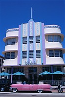 Art deco area, Miami Beach, Florida, United States of America U.S.A., North America