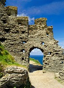 Tintagel Castle, Cornwall, England, UK, Europe