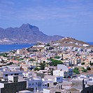 The main port of Mindelo on the island of Sao Vicente, Cape Verde Islands