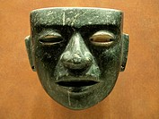 Teotihuacan mask, Anthropology National Museum, Mexico City