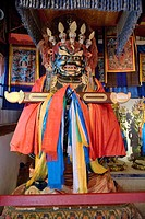 Yet another frightening Buddhist ceremonial beast, Erdene Zuu monastery in north central Mongolia