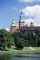 The Wawel Cathedral and Castle, Krakow Cracow, UNESCO World Heritage Site, Poland, Europe