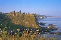 Dunluce Castle, County Antrim, Northern Ireland, UK, Europe