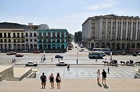View from the Capitolio Capitol building Havana, Cuba