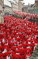 10001 Santa's world record attempt in Derry / Londonderry The final number exceeded 13000 Sunday 9 December 2007