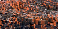 Giants Causeway at sunse, County Antrim Northern Ireland