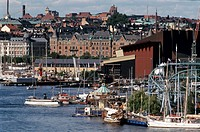 Östermalm, Vasamuséet Och Gröna Lund, Stockholm, Cityscape By River
