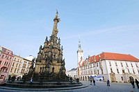 UNESCO - Holy Trinity Column, Olomouc, Northern Moravia, Czech Republic