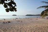 Kata beach, Phuket, Thailand, Southeast Asia, Asia