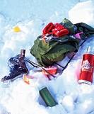 60X70 FOTO: Ulrika Ekblom COPYRIGHT BILDHUSET Snow With Medium Group Of Objects