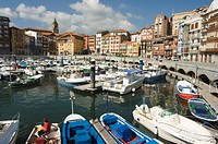 Old Town Harbour, Bermeo, Euskadi Basque Country Pais Vasco, Spain, Europe