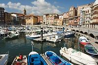 Old Town Harbour, Bermeo, Euskadi Basque Country Pais Vasco, Spain, Europe