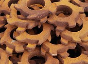 Rostiga Kugghjul, Rusty Gears, Full Frame