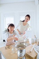 A Mother And A Daughter Who Make Sweets