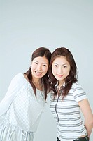 Two Japanese Female Portrait