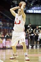 jobey thomas,milano 17/12/2008 ,basket euroleague 2008/2009 ,aj olimpia milano_partizan igokea belgrado 73_59,photo andrea oldani/markanews