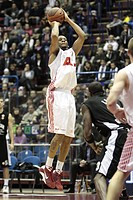 mike hall ,milano 17/12/2008 ,basket euroleague 2008/2009 ,aj olimpia milano_partizan igokea belgrado 73_59,photo andrea oldani/markanews