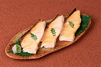 Slices Of Baked Cod