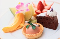 Cakes And Fruits