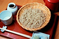 Bowl Of Noodles On Tray
