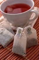 Teabags And Cup Of Tea