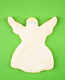 Angel sugar cookie with decorative icing