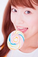 The Woman Who Eats A Swirl Candy