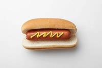Single hot dog