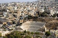 Roman Theatre, Amman, Jordan, Middle East