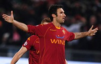 mirko vucinic ,roma 11_01_2009,serie a football championship 2008_2009,roma_milan 2_2,photo mezzabarba/markanews
