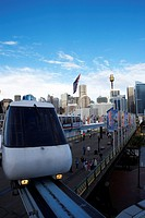 Monorail from Sydney, Australia