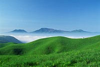 Fresh Green And A Sea Of Clouds (thumbnail)