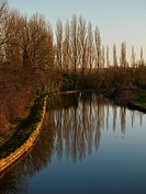 Grand Union Canal, Milton Keynes, Midland, UK