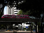Malaysia, Kuala Lumpur, STAR LRT, Light Rail Transit