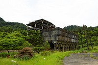 Building Exterior, Mining Museum in Shih Fen, Taiwan