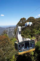 Cableway from Scenic World, Sydney, Australia
