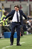 walter mazzarri sampdoria trainer,milano 2009 ,serie a football championship 2008/2009 ,inter_sampdoria