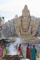 Shiva Mandir temple, Bengaluru Bangalore, Karnataka state, India, Asia