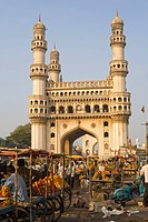 Charminar, Hyderabad, Andhra Pradesh state, India, Asia